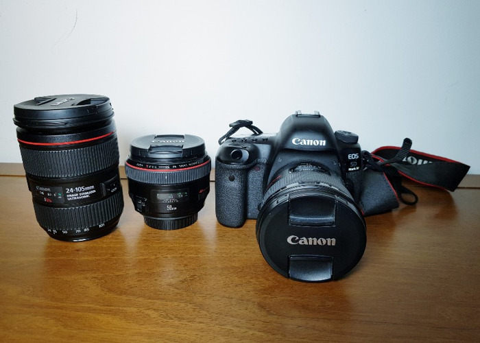 Canon 5D Mark IV + 24mm + 50mm + 24-105mm - 1
