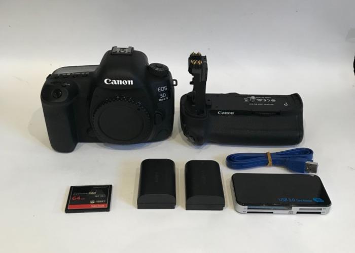 Canon 5D Mark 4  IV C-Log Camera Body  - 1