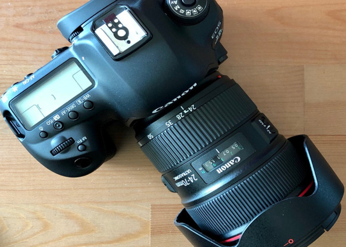 Canon 5D Mark IV + Canon 24-70mm 28 II (Video Kit) - 2