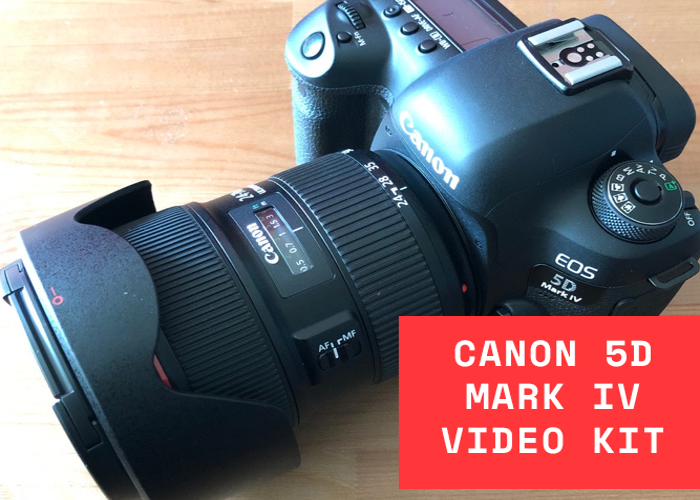 Canon 5D Mark IV + Canon 24-70mm 28 II (Video Kit) - 1