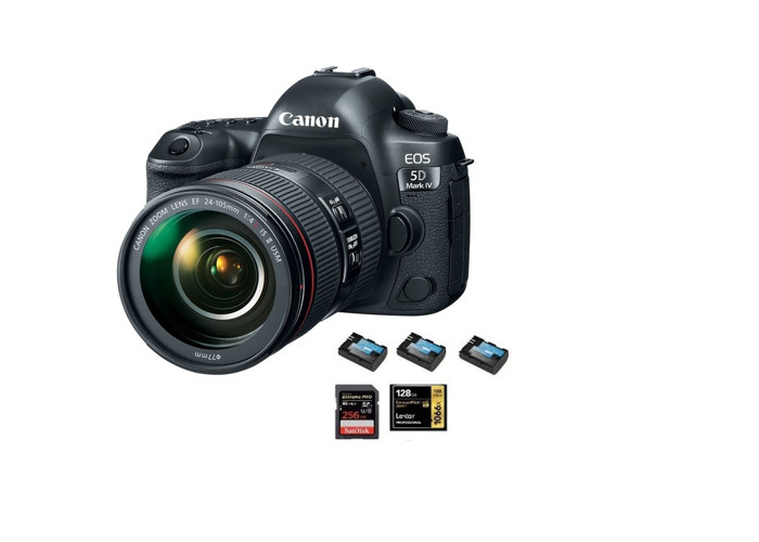 Canon 5d Mark IV + Canon EF 24-105mm f/4L IS II USM Lenses - 1