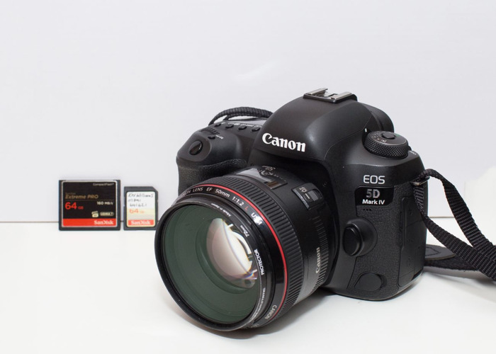 Canon 5D Mark IV & EF 50mm f/1.2L - 1