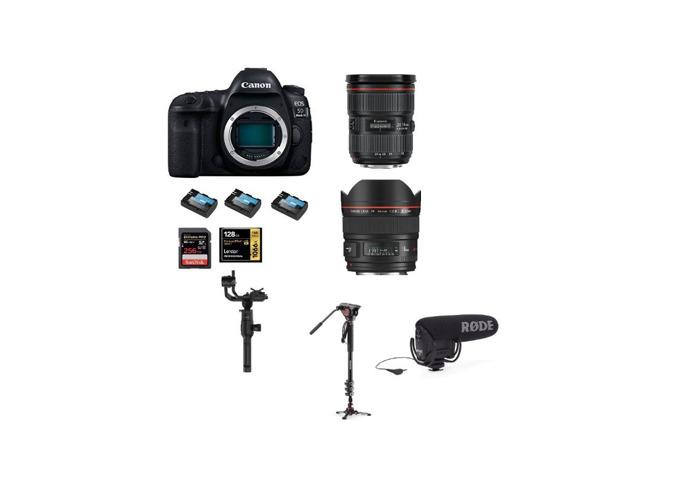 Canon 5D Mark 4 IV, 24 - 70 mm, 16-35mm 2.8 III, DJI Ronin S, Tripod - 1