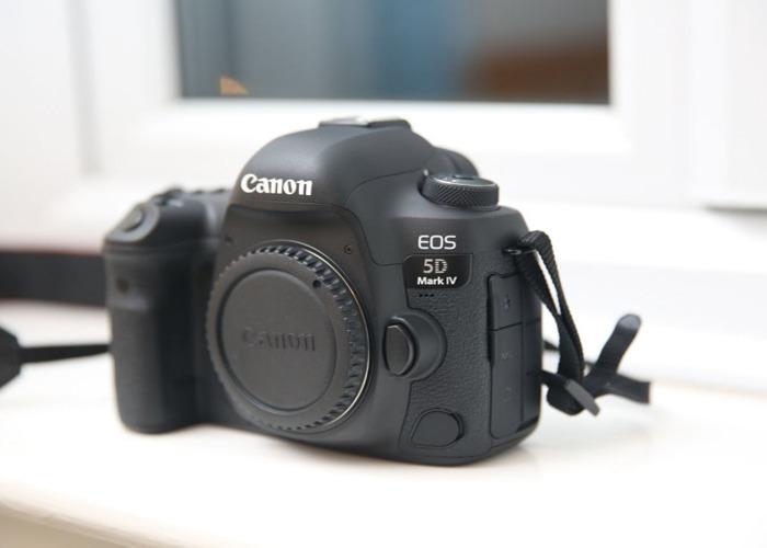 Canon 5D Mark IV 4 - Camera Body  - 1