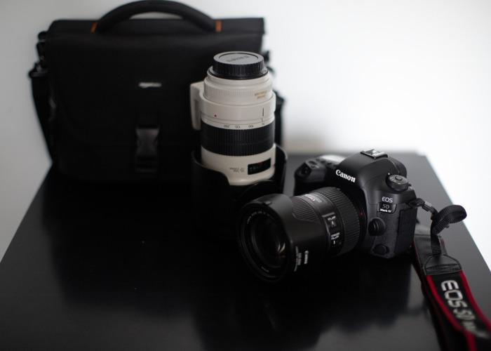 Canon 5D Mark IV 4 and 2 lenses bundle  - 1
