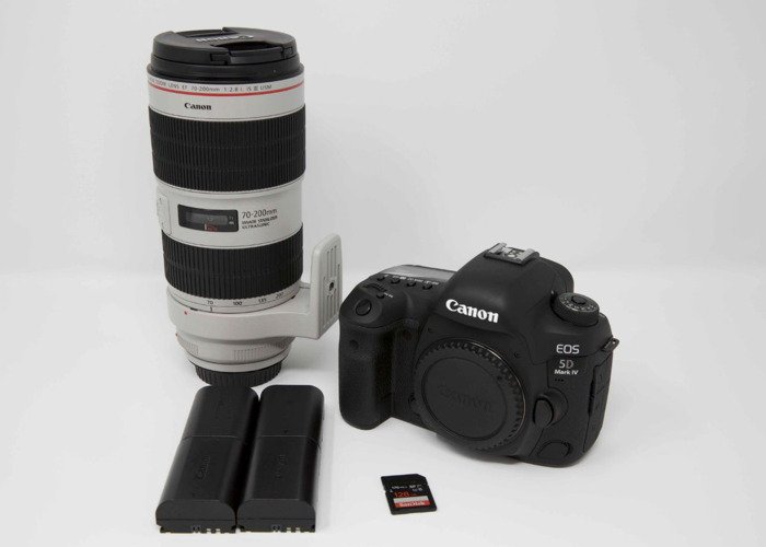 Canon 5D Mark IV 4 and Canon 70-200 mm f/2.8 L IS III USM  - 1