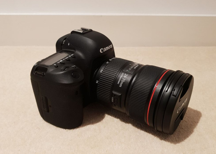 Canon 5D Mark IV Camera + 24-70MM 2.8L Lens + LOTS of accessories - 2