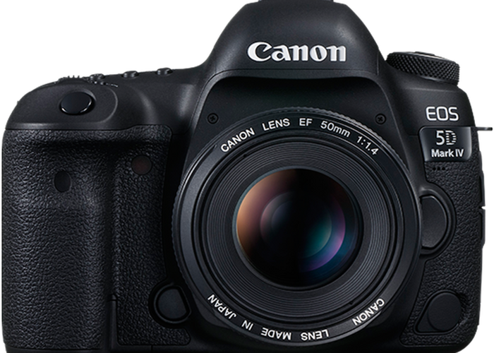 Canon 5D Mark IV with Canon 50mm 1.4 - 1
