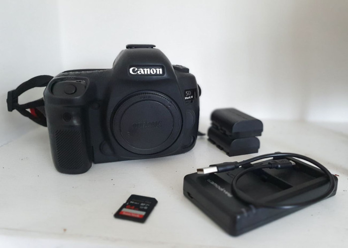 Canon 5D Mark IV with Batteries & SD Cards - 1