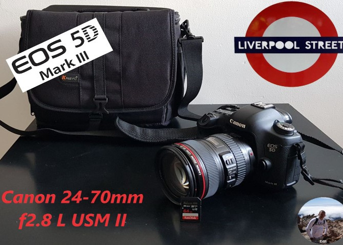 Canon 5D mark MK III 3 and Canon 24-70mm 2.8L USM ll - 1