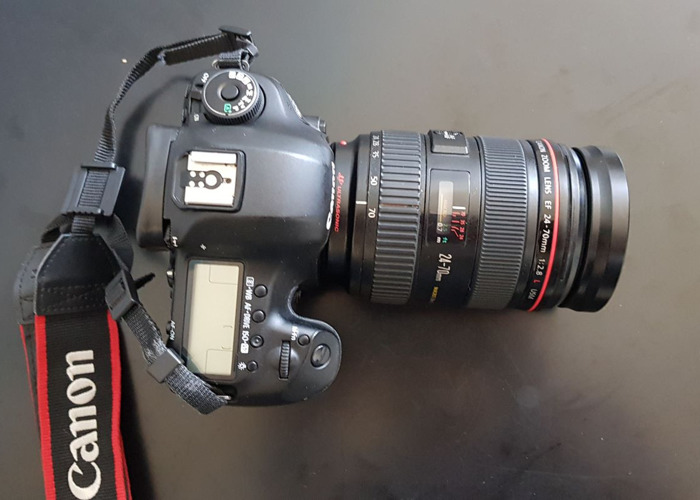 Canon 5D mark MK III 3 and Canon 24-70mm 2.8L USM ll - 2