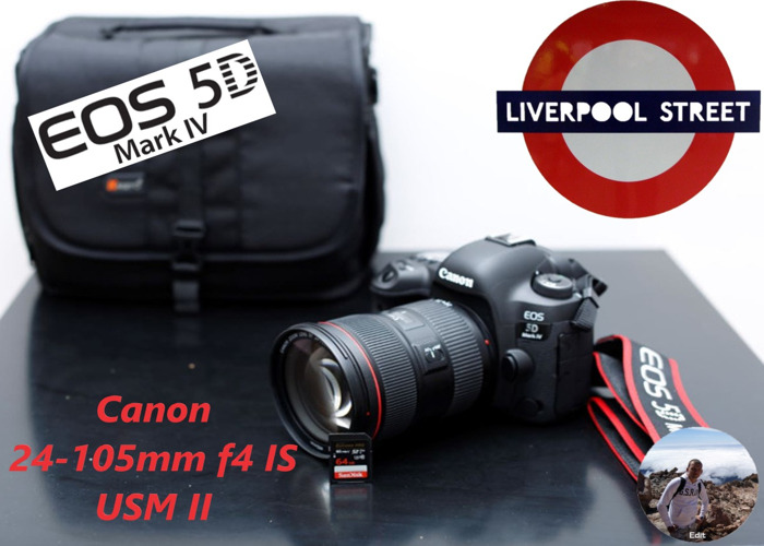 Canon 5D mark MK IV 4 and Canon 24-105mm f4 IS USM ll - 1