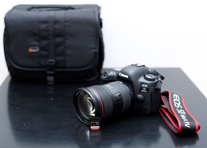 Canon 5D mark MK IV 4 and Canon 24-70mm 2.8L USM ll - 1