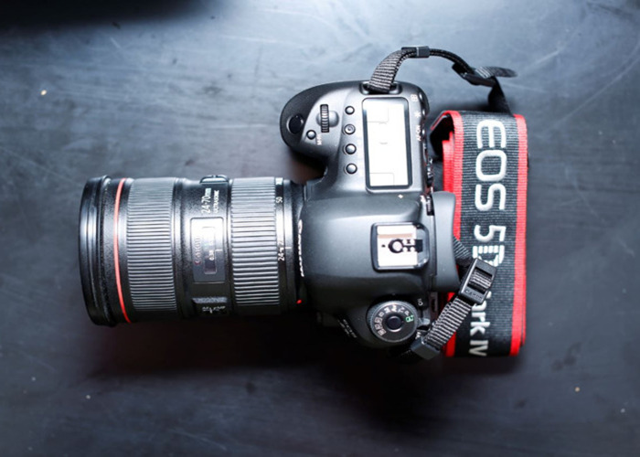 Canon 5D mark MK IV 4 and Canon 24-70mm 2.8L USM ll - 2