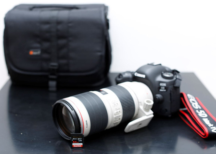 Canon 5D mark MK IV 4 and Canon 70-200mm f/2.8 L IS II USM - 1