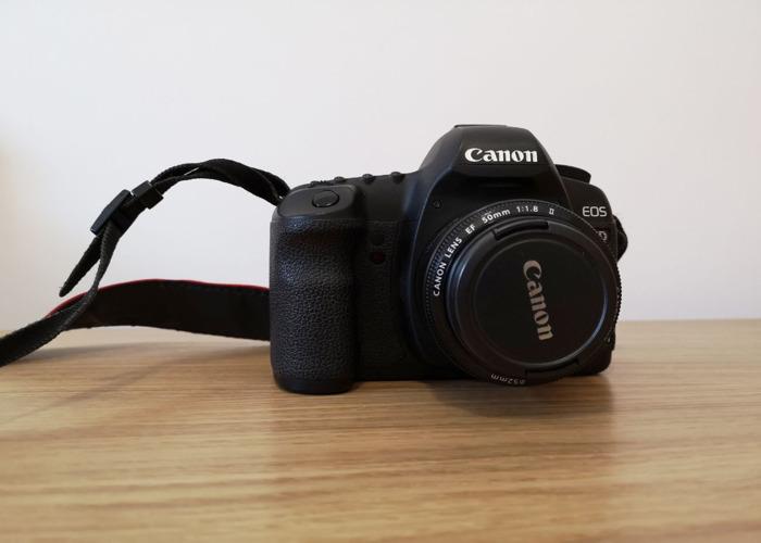Canon 5d MK ii camera Body + 50mm F/1.8 II Lens - 2