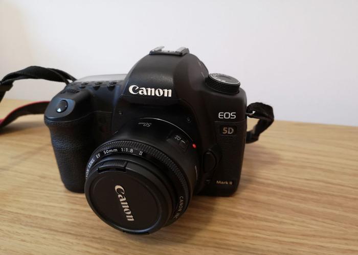 Canon 5d MK ii camera Body + 50mm F/1.8 II Lens - 1