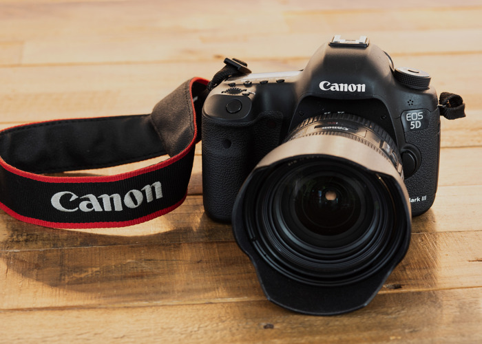 Canon 5D Mk III w/ EF 24-70mm f/4 lens + EXTRAS - 1