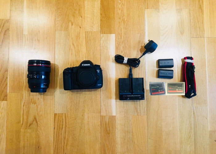 Canon 5D mk iii with 24-105 Zoom Lens - 1