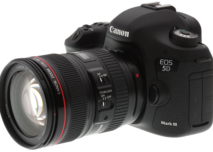 Canon 5D Mk iii with 24-105mm EF Lens - 1