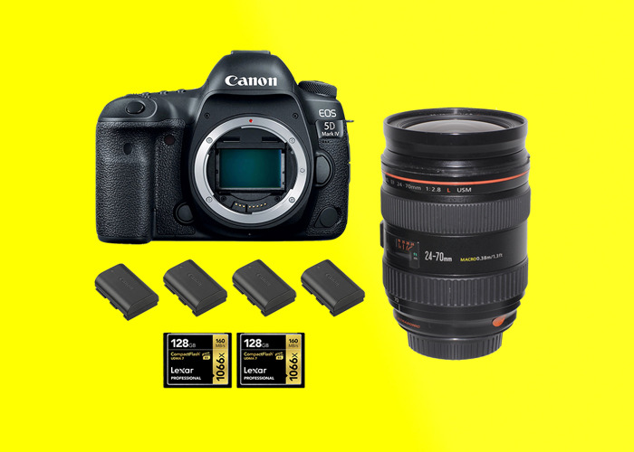 Canon 5d mark iv + Canon 24 70 F2.8 / 5d mark 4 / 5d iv / 5dmk4 / 5d mk iv - 1