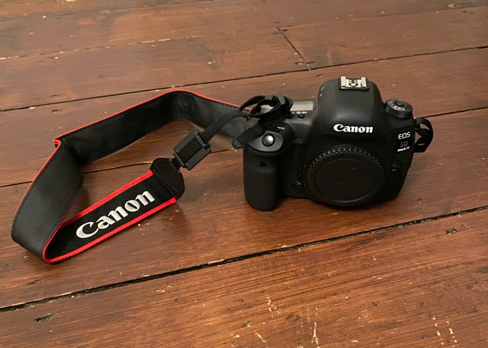 Canon 5d mk iv (with lens)  - 2