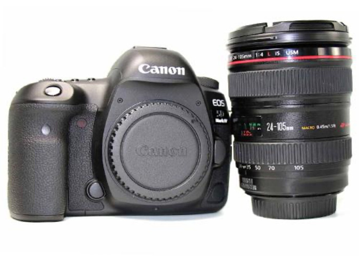 Canon 5d mk iv (with lens)  - 1