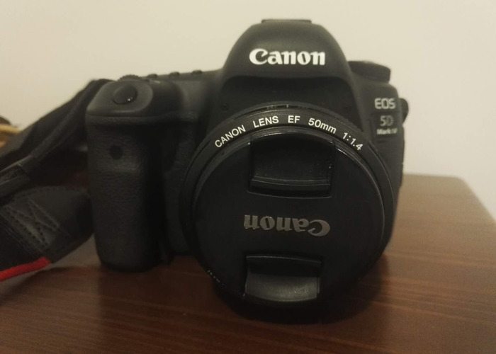 Canon 5D MK4 with Canon 50mm f1.4 USM Lens - 1