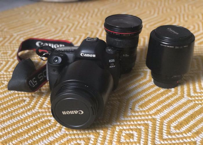 Canon 5D MKIV + 1 Lens - 1