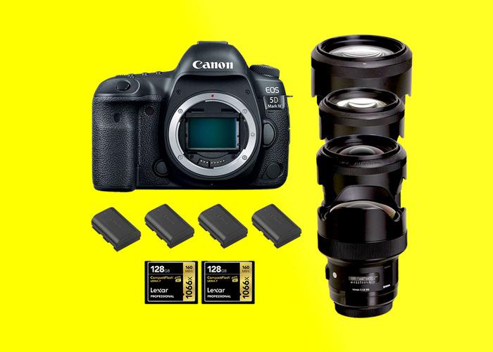 Canon 5d mark iv + Sigma Art Set 14/35/50/85 / 5d mark 4 / 5d iv / 5dmk4 / 5d mk iv - 1