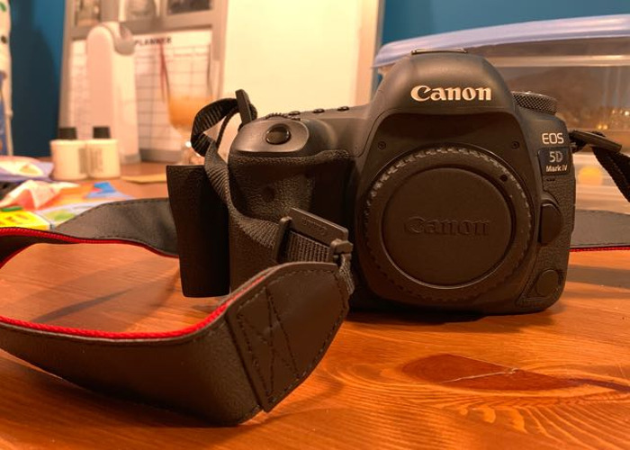 Canon 5D MkIV body with clog - 1
