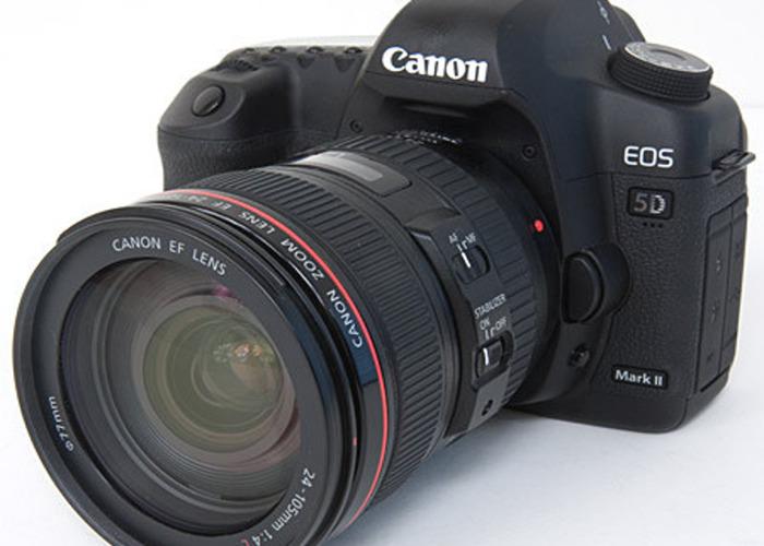 Canon 5Dii professional camera kit - 1