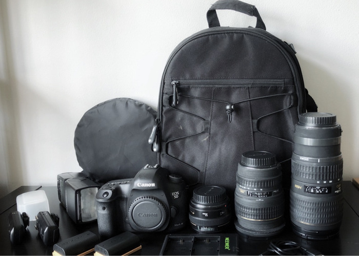 Canon 5D Mark iii 3 DSLR Package Deal - 1