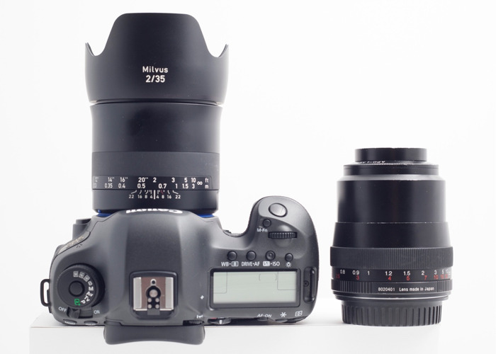 Canon 5DS Body and Lenses - 1
