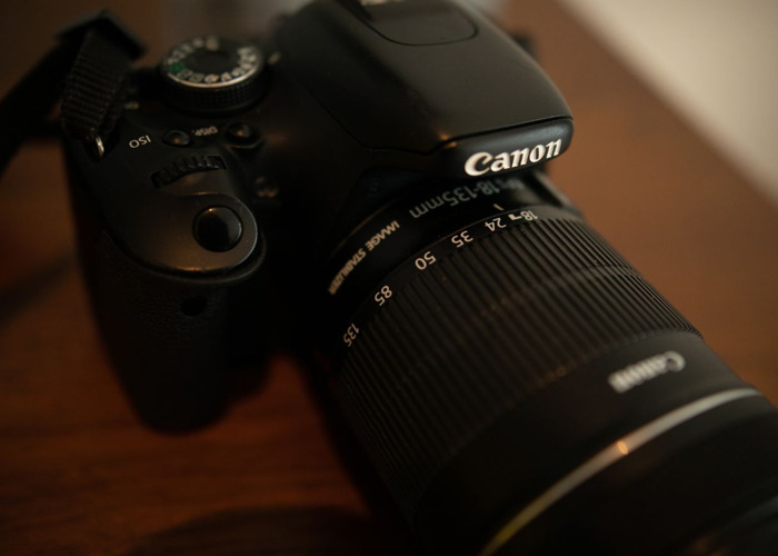 Canon 600D +  EFS 18-135mm  - 1