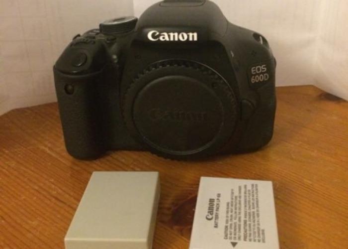 Canon 600D  - 2