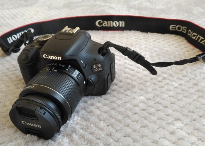Rent Canon 600D + Kit Lens and Accessories in London | Fat Llama