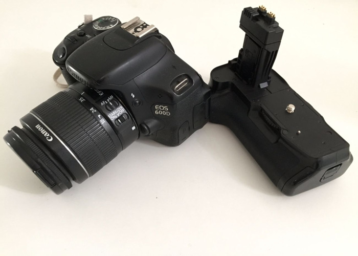 Canon 600d Basic Kit - 1