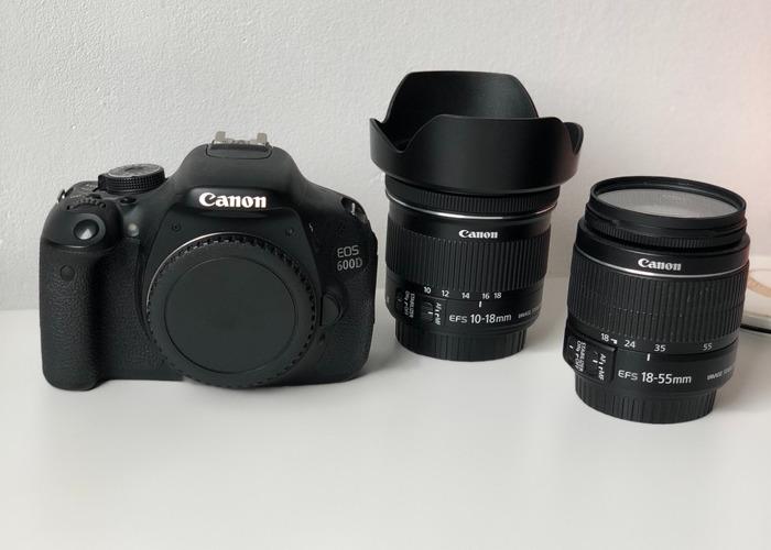Canon 600D Bundle - 2