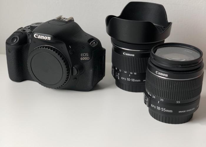 Canon 600D Bundle - 1