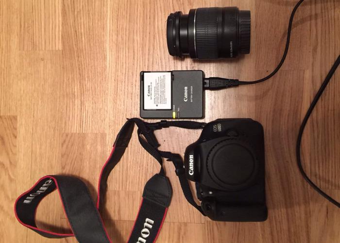 Canon 600D Camera - 1
