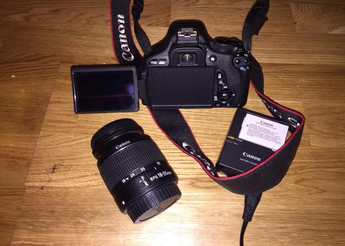 Canon 600D Camera - 2