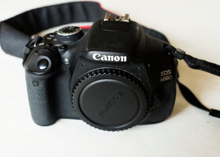 Canon 600D W/ 18-55mm Lens - 1