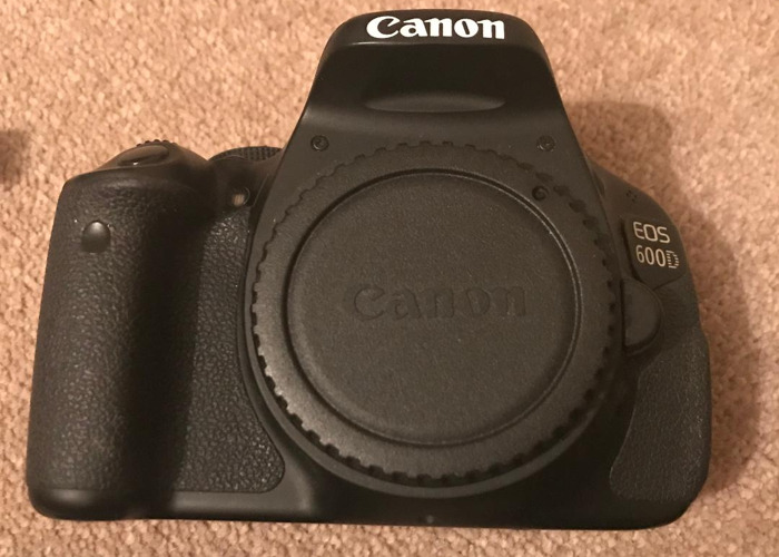 Canon 600d with 18-55mm and 55-250mm lenses, 3x batteries - 2