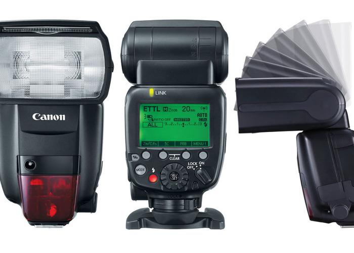 Canon 600EX II-RT Speedlight Flash - 1