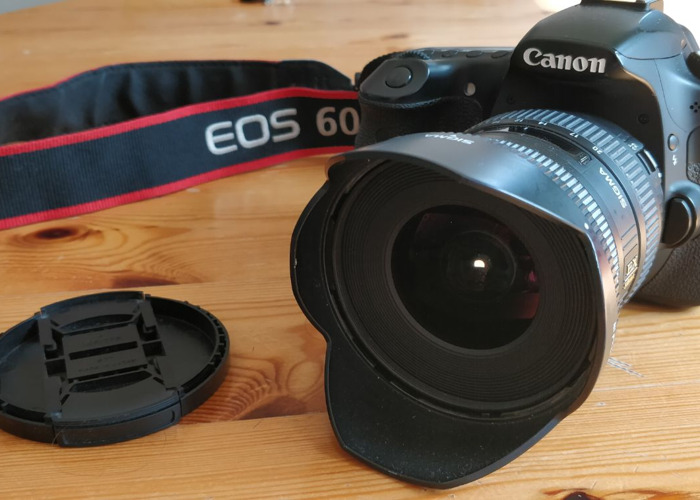 Canon 60D + wide angle lens - 1