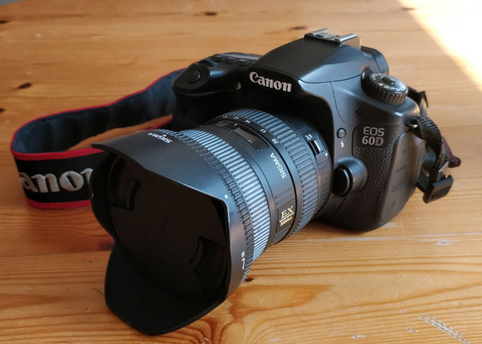 Canon 60D + wide angle lens - 2