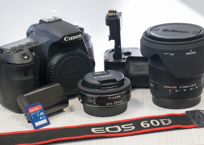 Canon 60d Bundle - 2