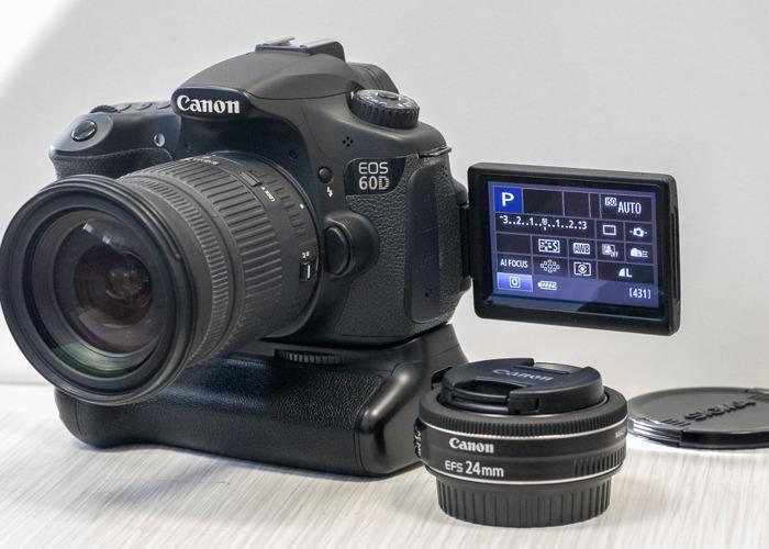 Canon 60d Bundle - 1