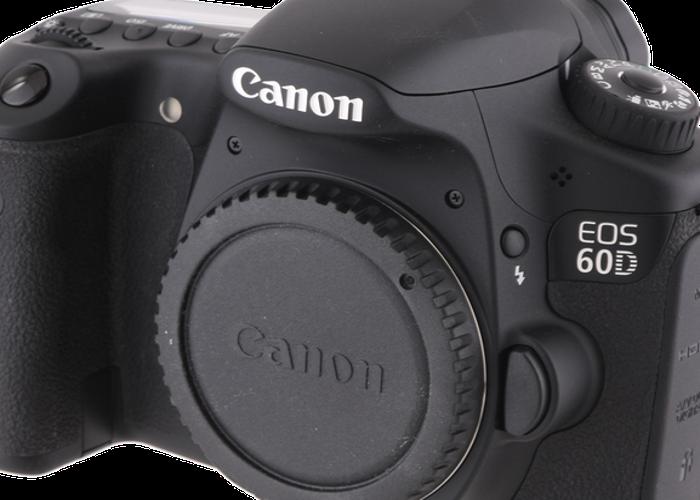 Canon 60D DSLR - 1